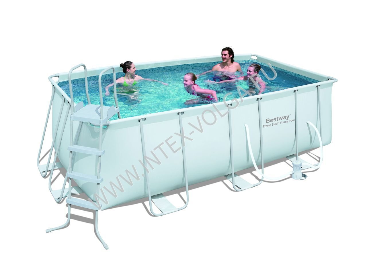 Bestway 56244 419 201 122 for Pool aufblasbar mit pumpe